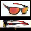 Óculos de Sol Oakley Jupiter Carbon Grafite Lentes Vermelhas Polarizadas