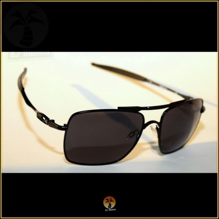 Óculos de Sol Oakley Deviation Preto Pretas Polarizadas