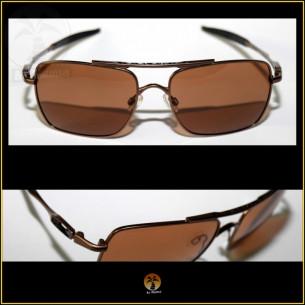 Óculos de Sol Oakley Deviation Marrom. Lentes Marrons Polarizadas 05515482ea