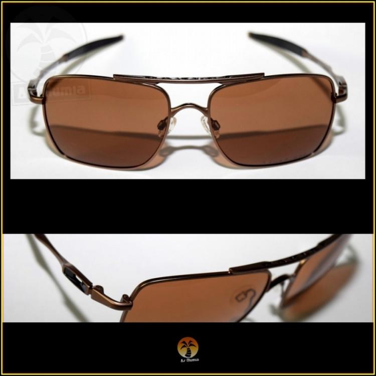 Óculos de Sol Oakley Deviation Marrom, Lentes Marrons Polarizadas
